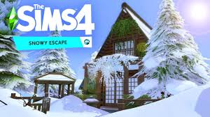 The Sims 4 Snowy Escape Codex Full Pc Game + Crack