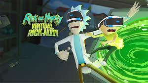 Rick And Morty Virtual Rickality vr vrex Full Pc Game + Crack
